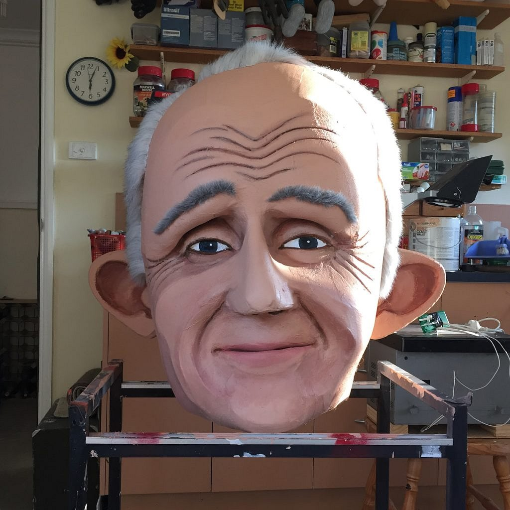 'Real Big Malcolm' puppet (2015)