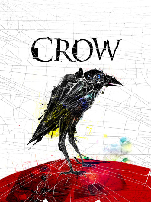 Illustration for Handspring Theatre Company's Crow